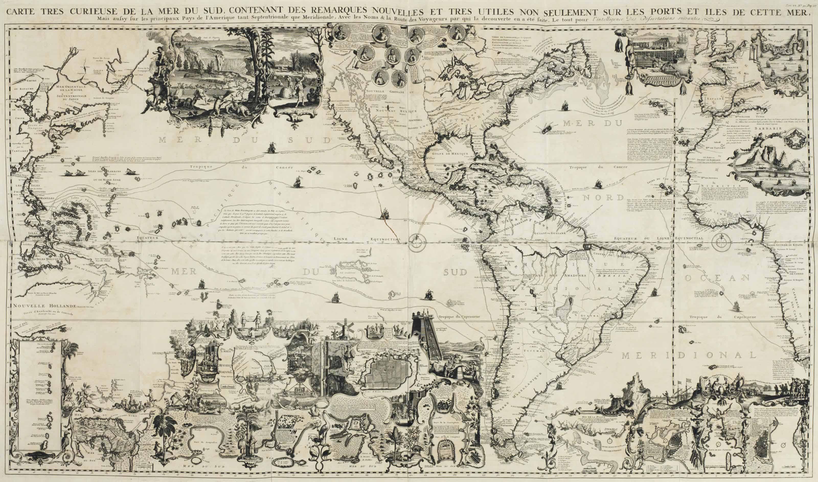 CHATELAIN, Henri Abraham (1684