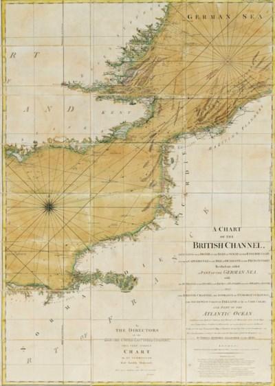 JEFFERYS, Thomas. A Chart of t