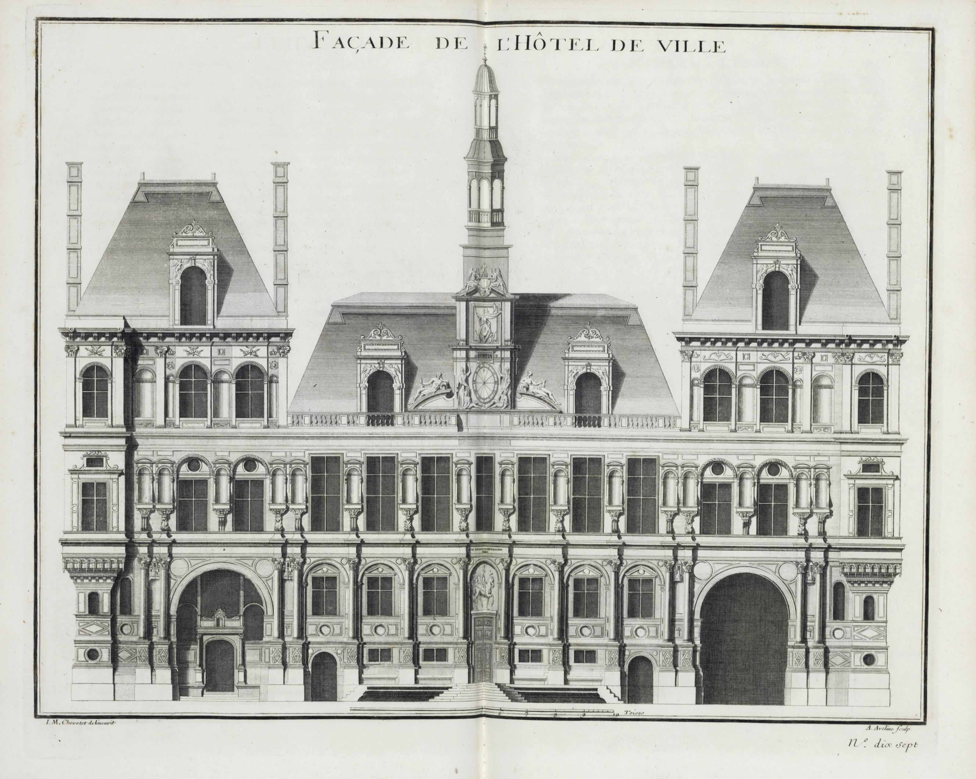 FÉLIBIEN, Michel (1665-1719).