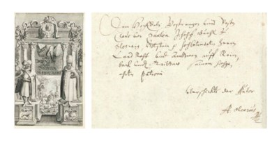 OLEARIUS, Adam (1603-1671). Of