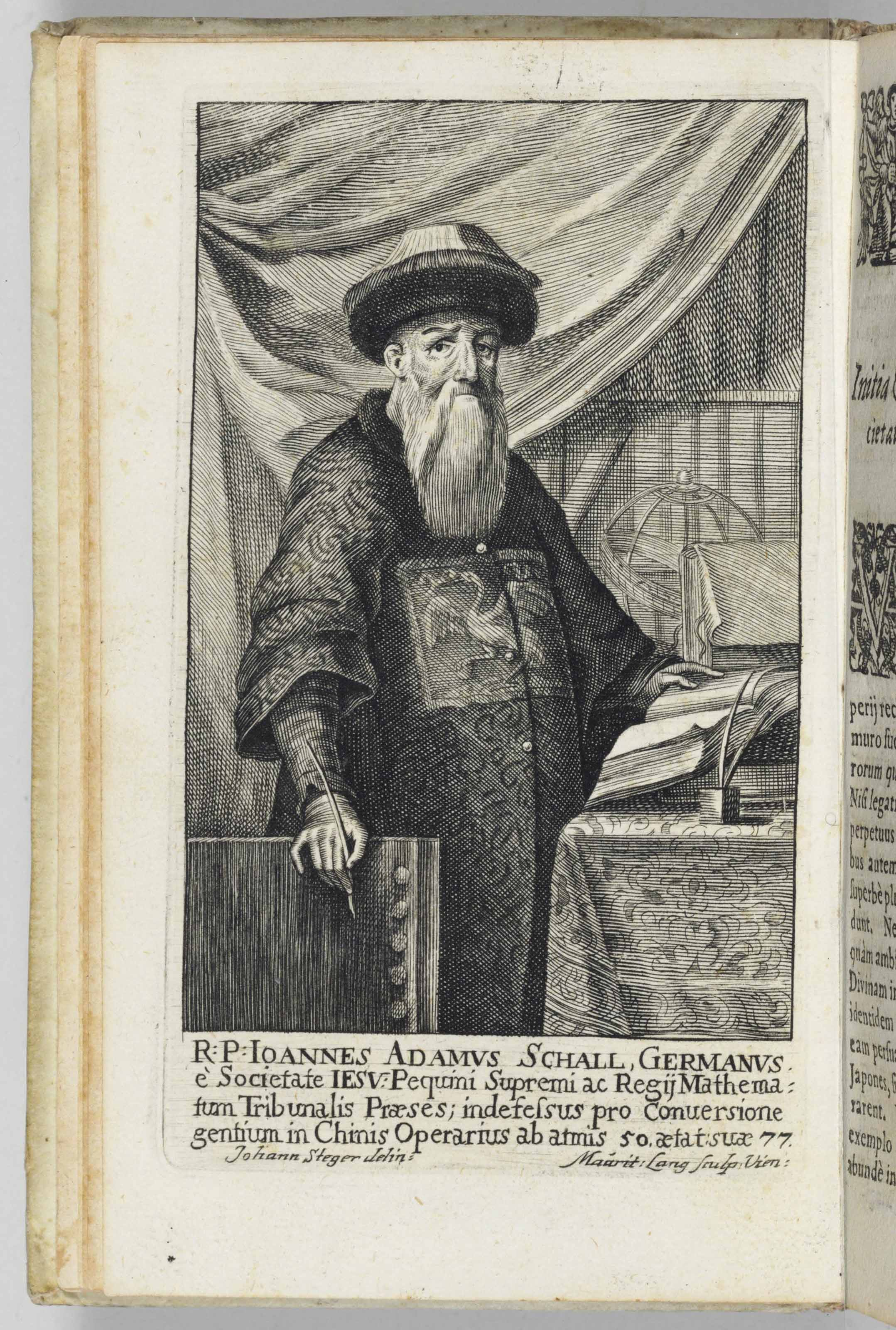 SCHALL VON BELL, Johann Adam (