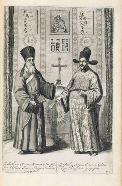 KIRCHER, Athanasius. La Chine