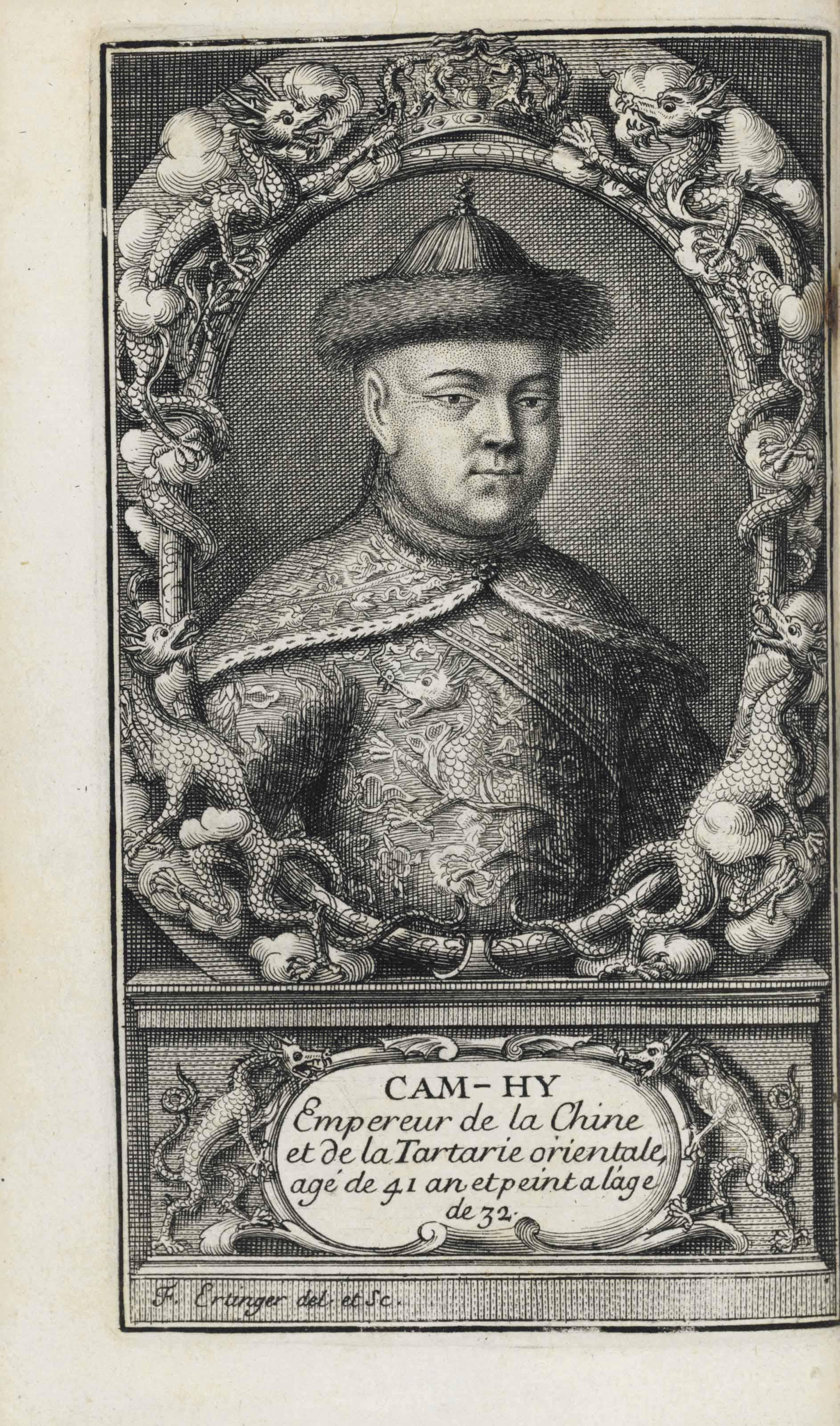 LE COMTE, Louis (1655-1728). N