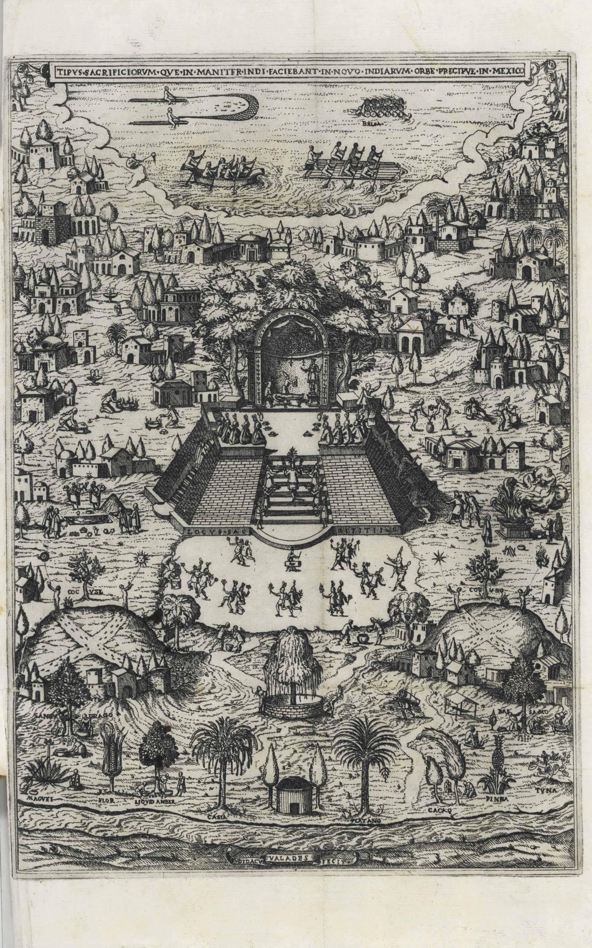 VALADÉS, Diego (b. 1533). Rhet