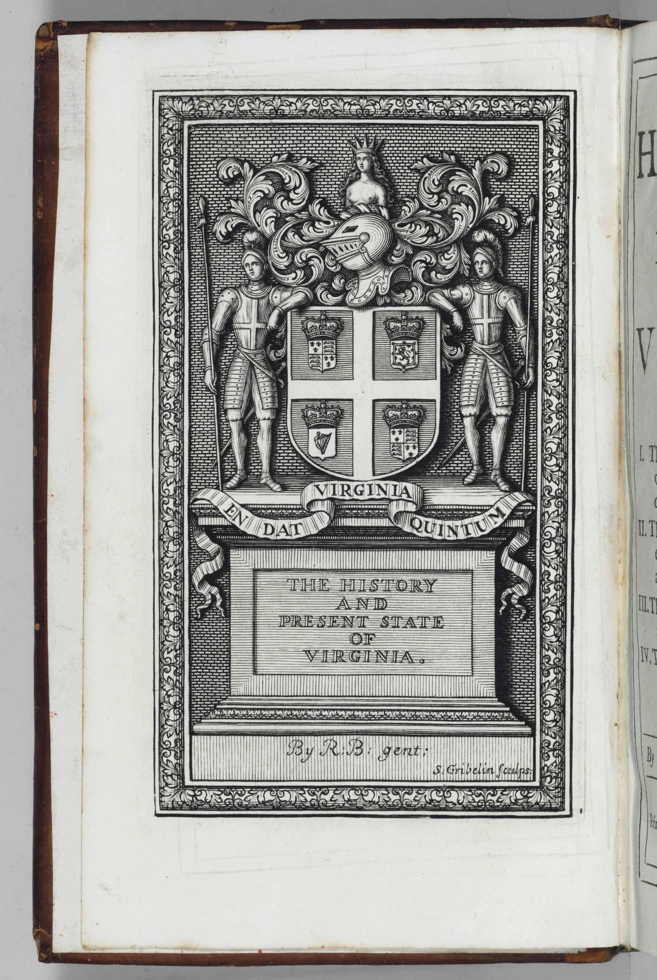 [BEVERLEY, Robert (ca 1673-ca1