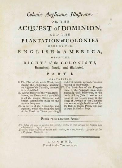 BOLLAN, William (d. 1776). Col