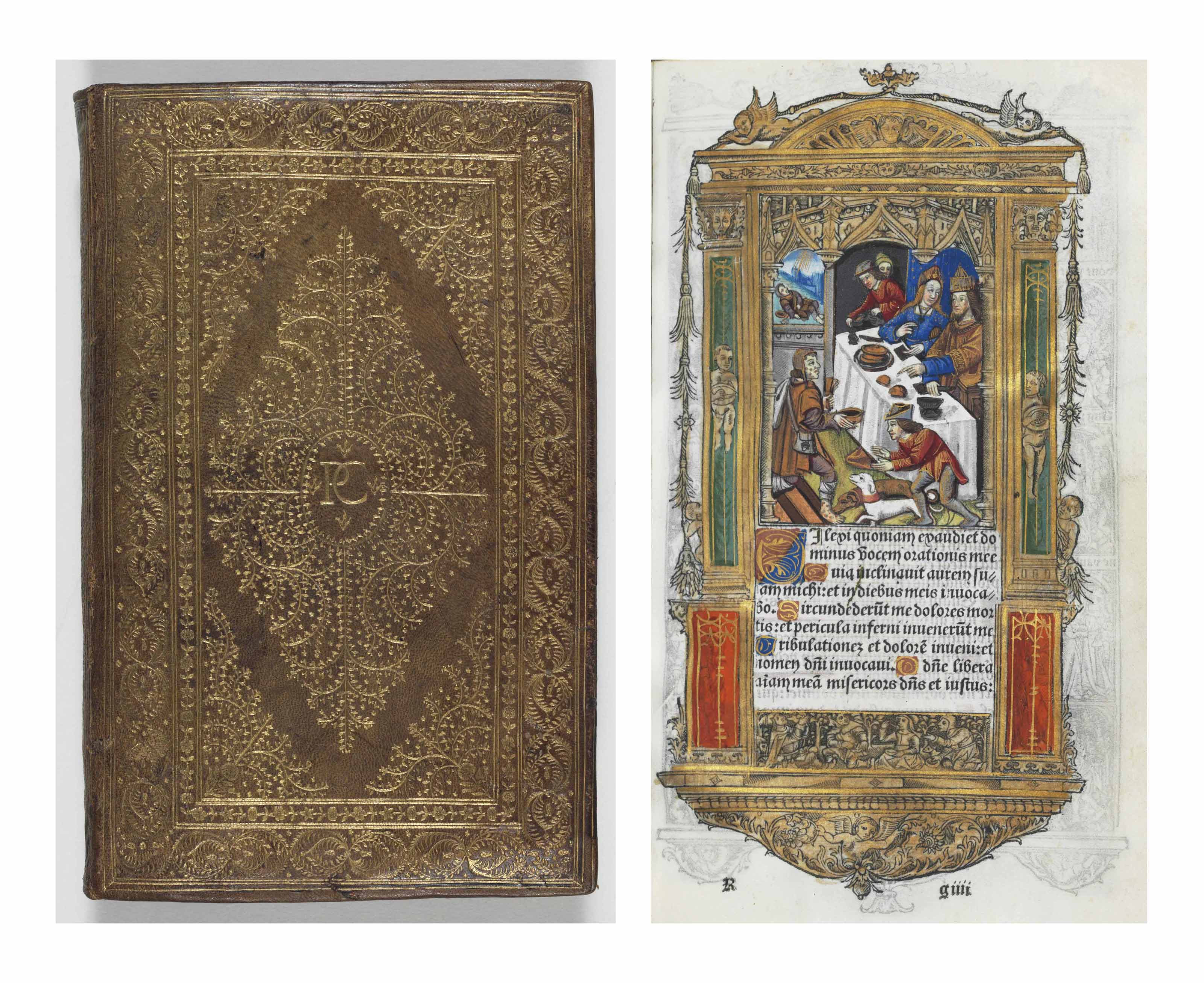 BOOK OF HOURS, use of Rome, La