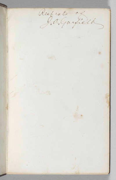 [GARFIELD, James (1831-1881)].