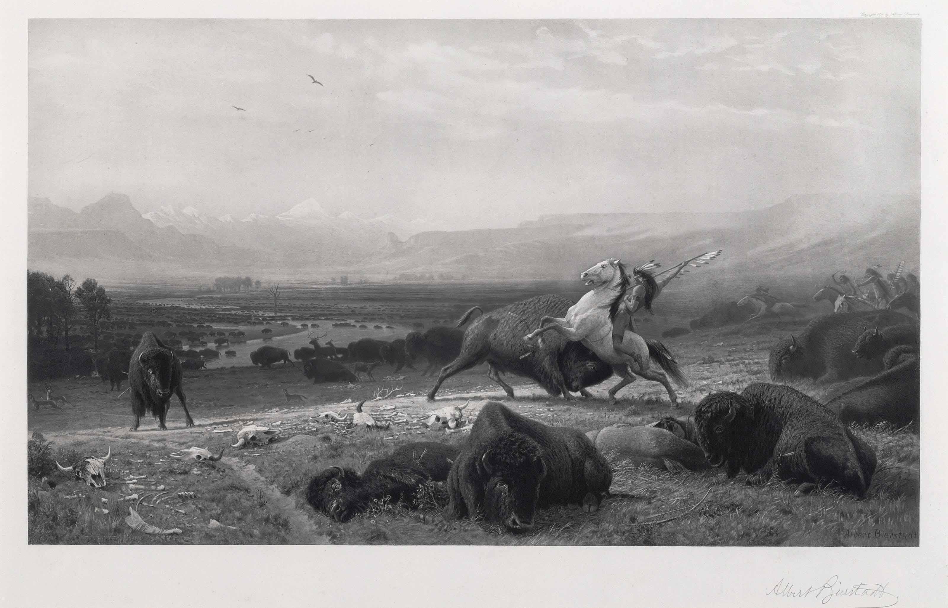 BIERSTADT, Albert (1830-1902), after – Goupil, publisher.