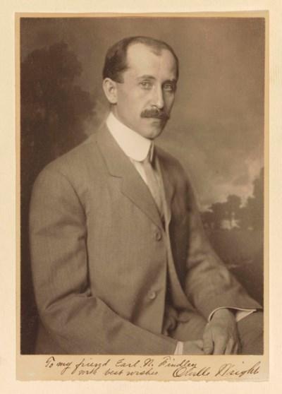 WRIGHT, Orville (1871-1948). P