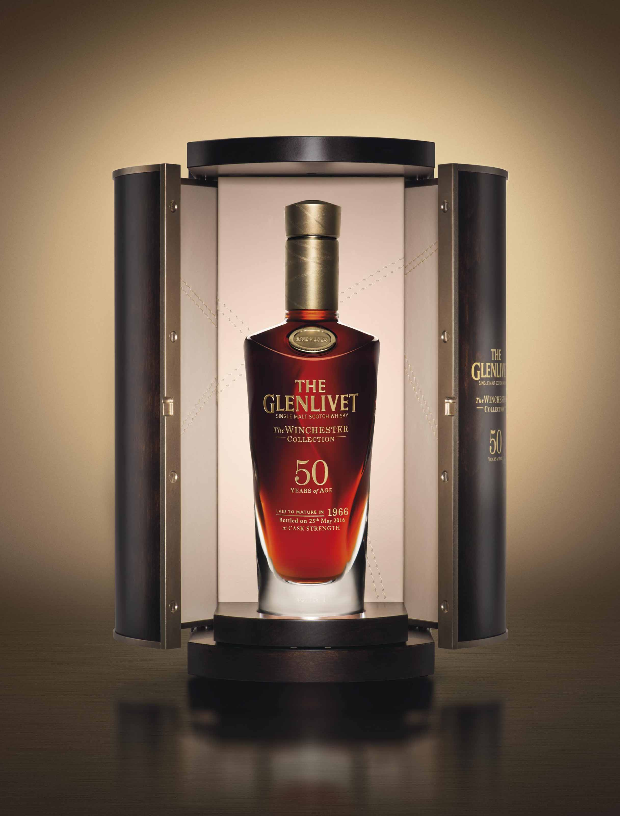 The Glenlivet, The Winchester Collection, 50 Year Old Vintage 1966