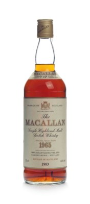 The Macallan, 17 Year Old 1965