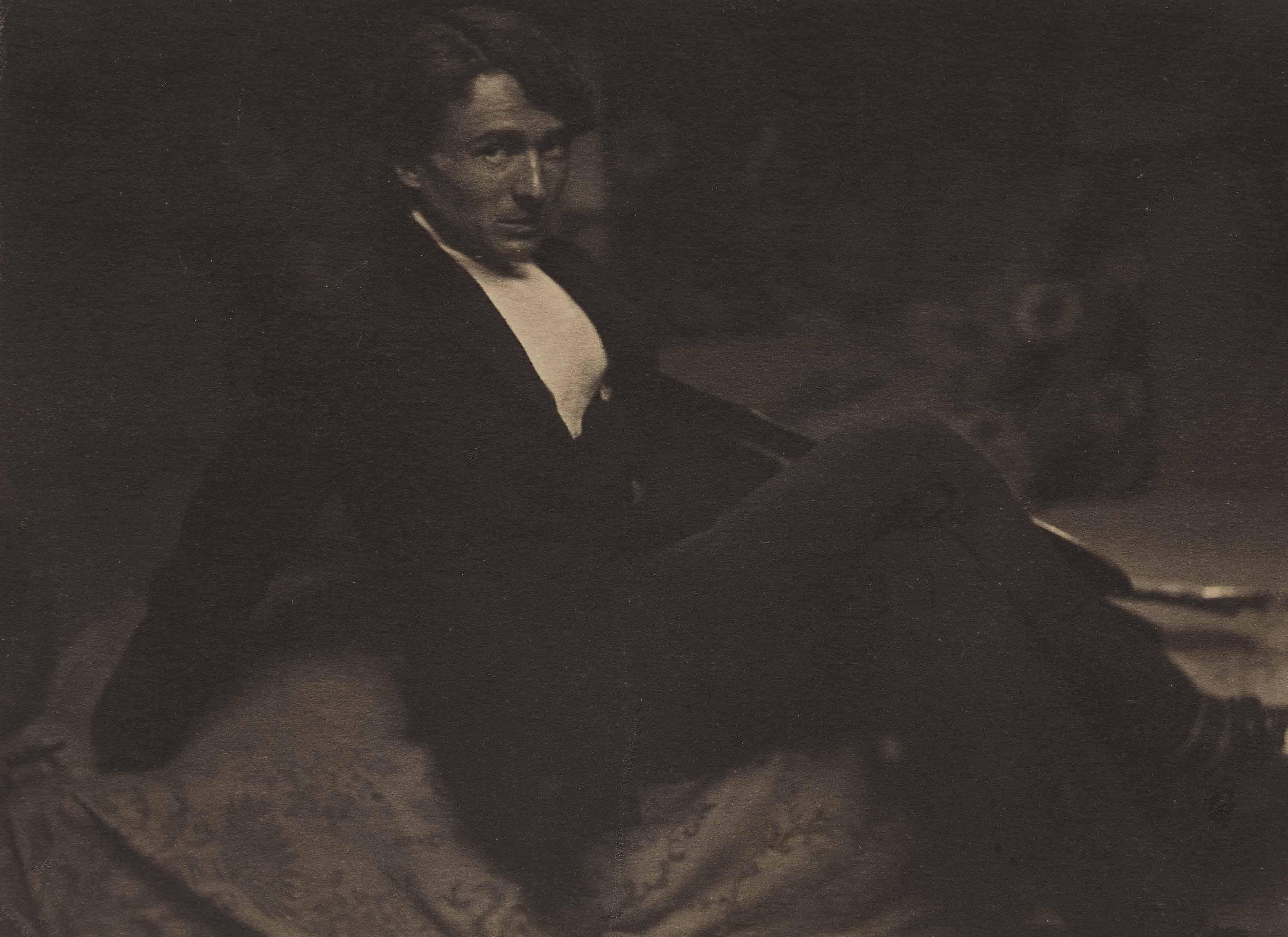 Portrait of Edward Steichen, 1901