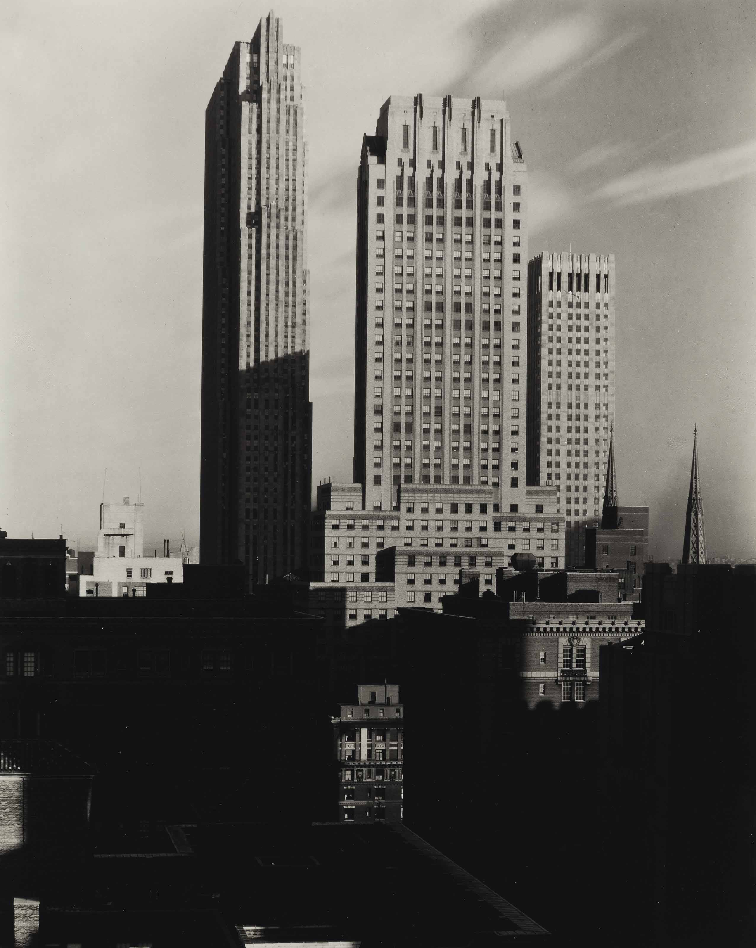 New York, from the Shelton, 1935