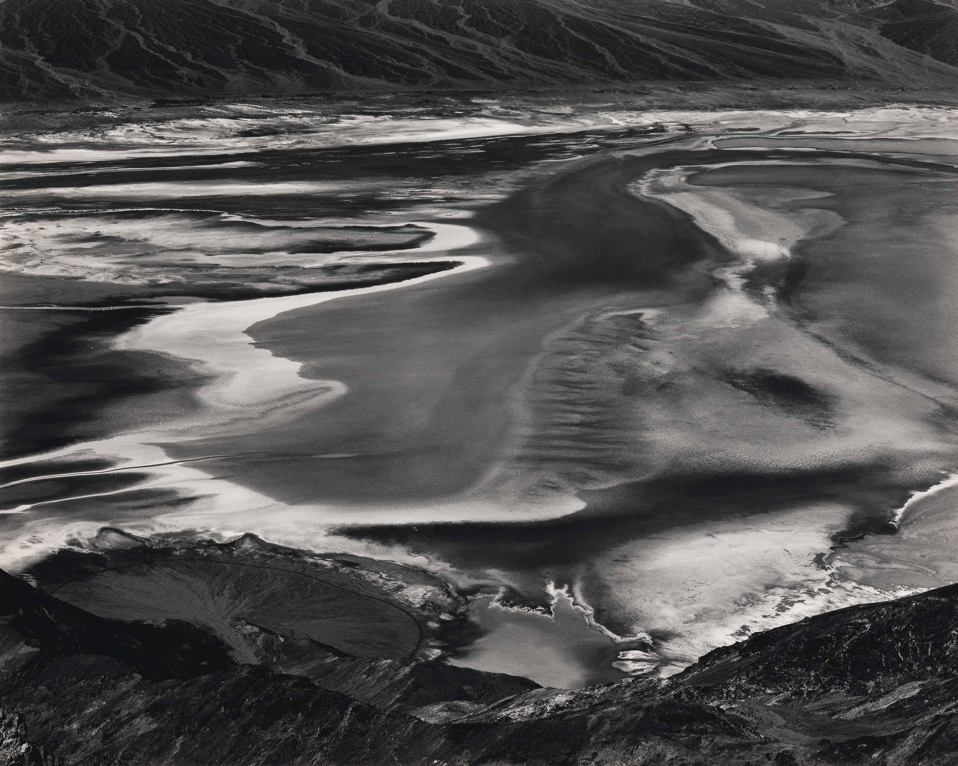 Susie Morrill, Floating Nude, Lake Teneya, 1983 | Susie