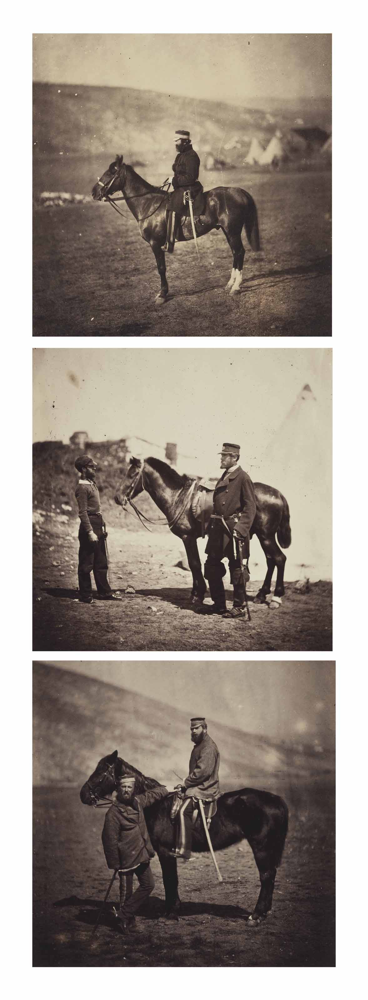 Images from the Crimean War, 1856