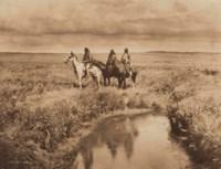 The Three Chiefs - Piegan, 1900