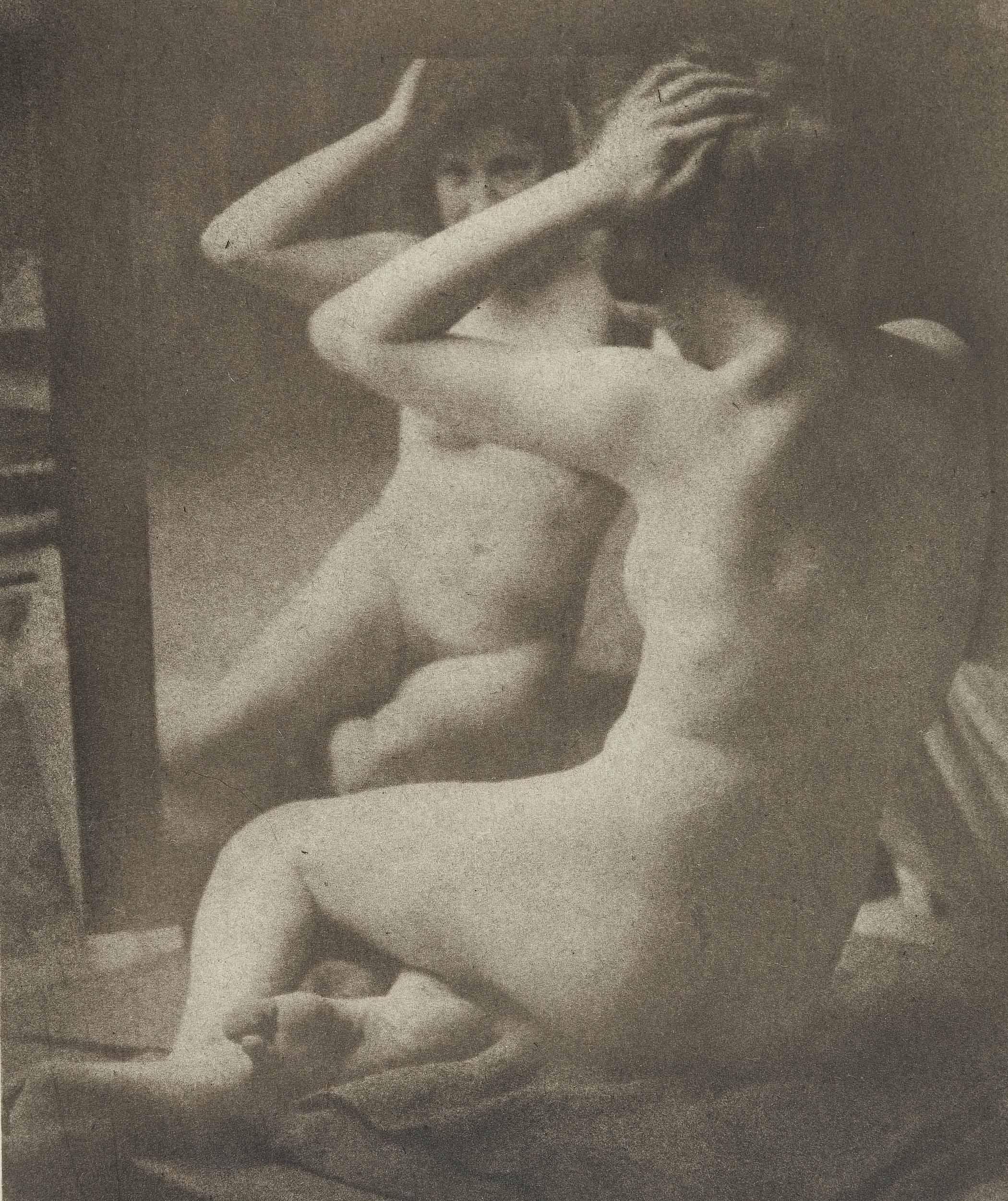 Nude in the Mirror, Tyrol, 1905