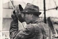 Oil Field Worker Drinking Water, Kilgore, Texas, 1939