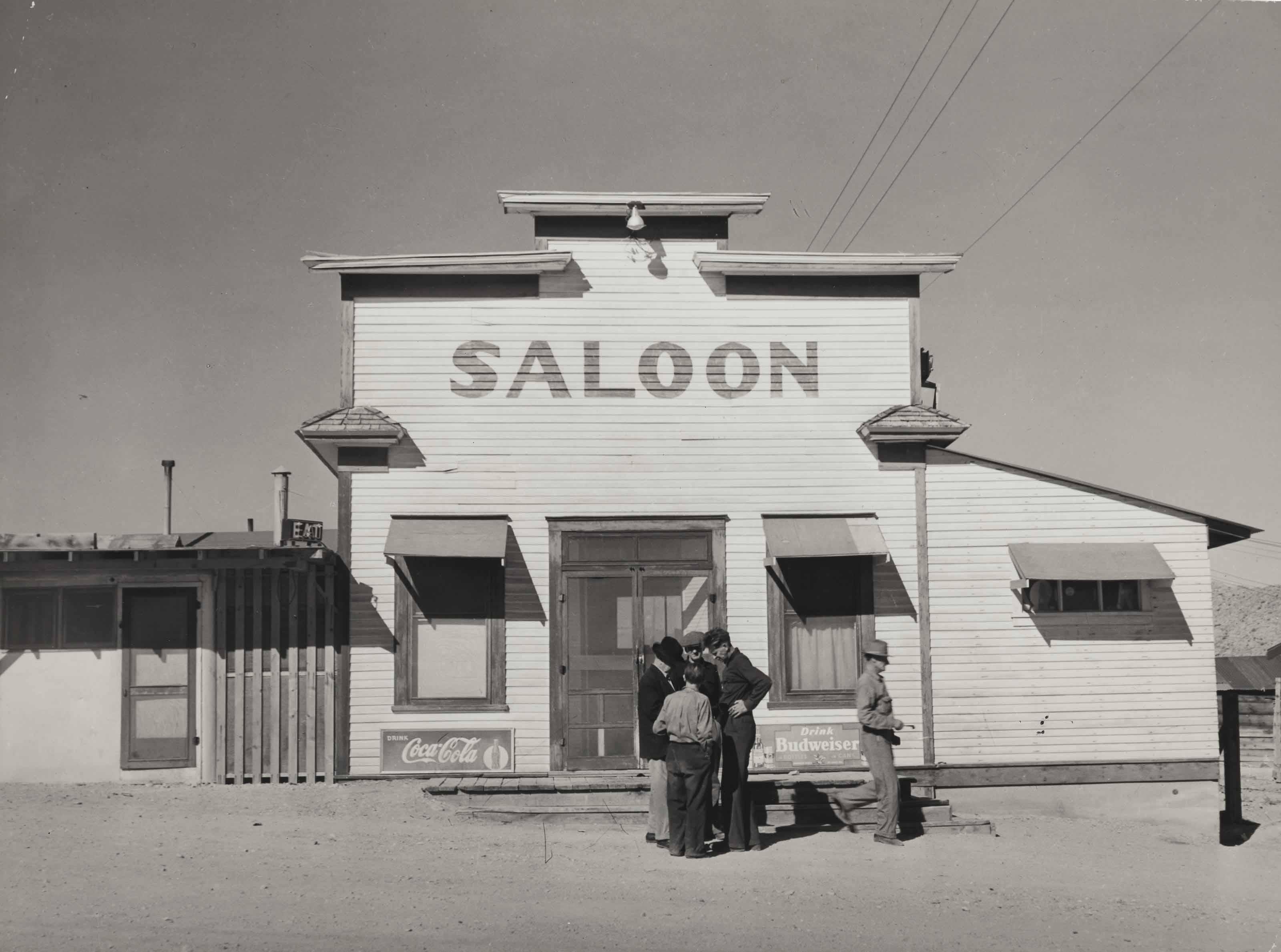 Saloon, Silver Peak, Nevada, March 1940