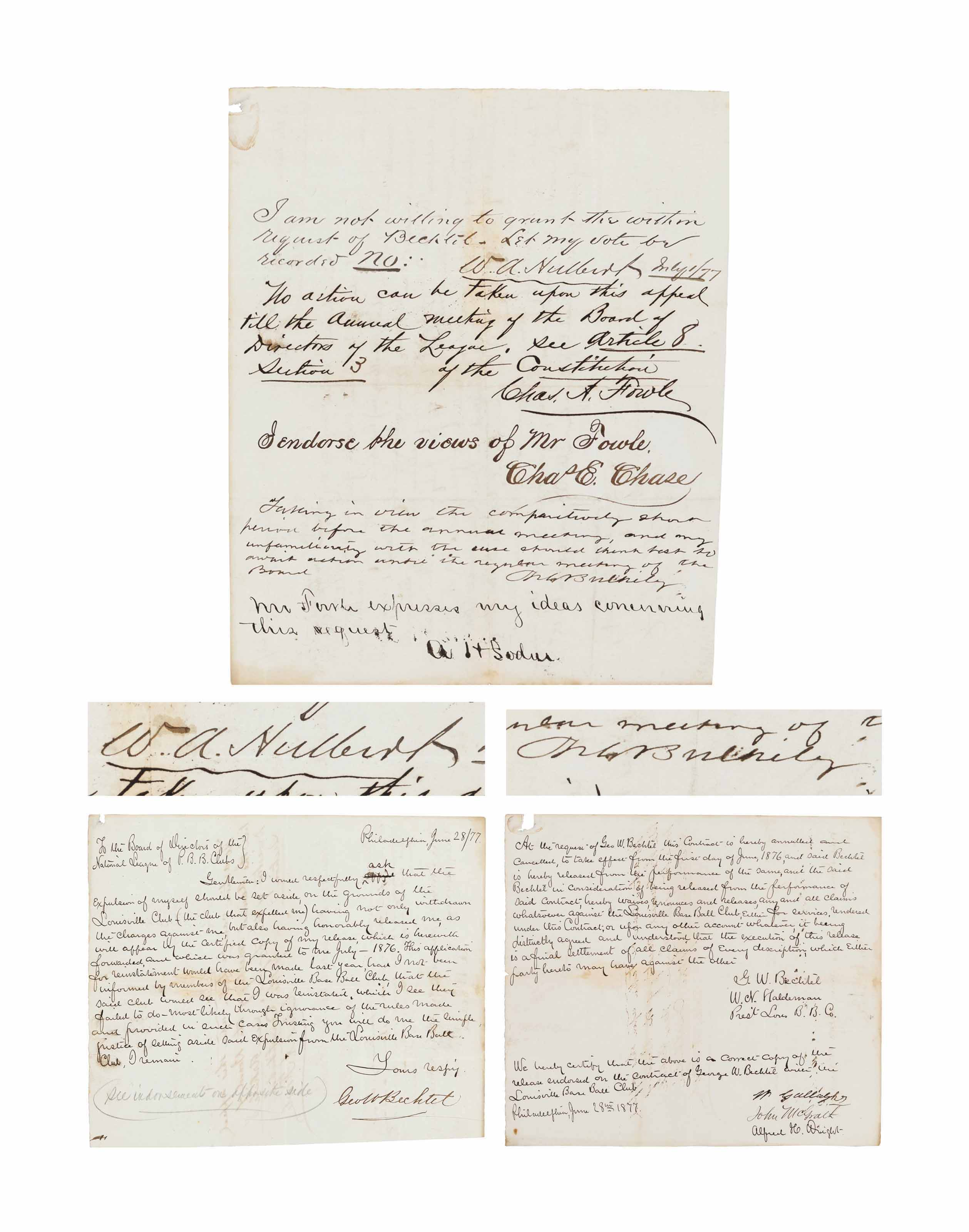 DOCUMENTS RELATED TO THE EXPUL
