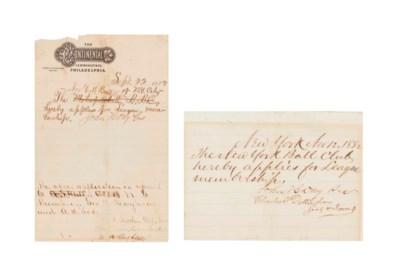 1882 NEW YORK GOTHAMS (GIANTS)