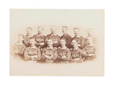 1885 CHICAGO WHITE STOCKINGS C