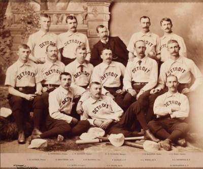 1886 DETROIT WOLVERINES CABINE