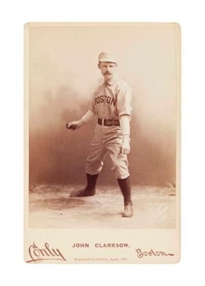 JOHN CLARKSON CABINET CARD