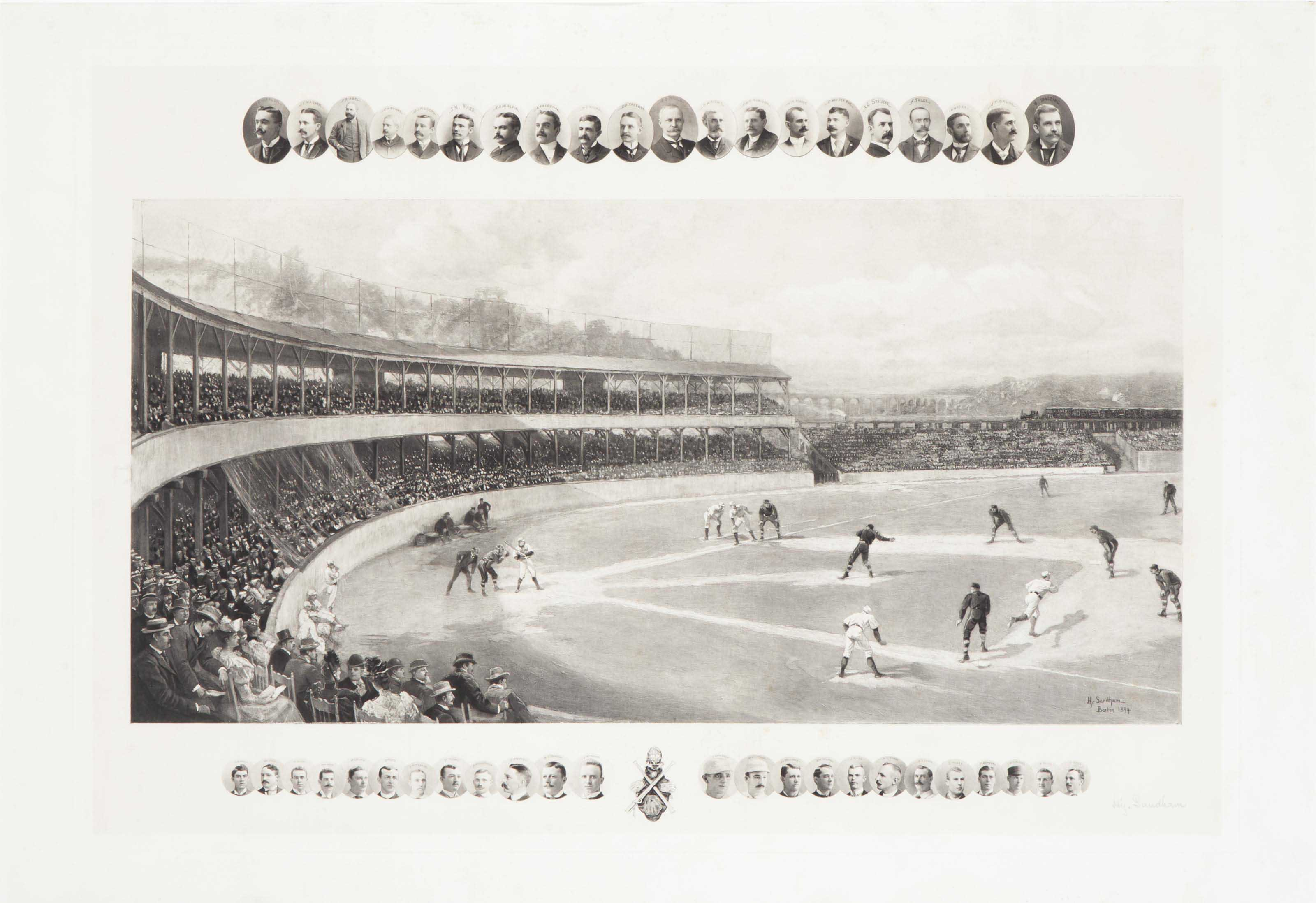 1894 TEMPLE CUP PRINT