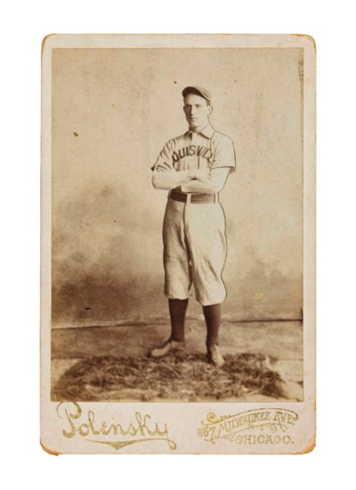 FRED CLARKE CABINET CARD