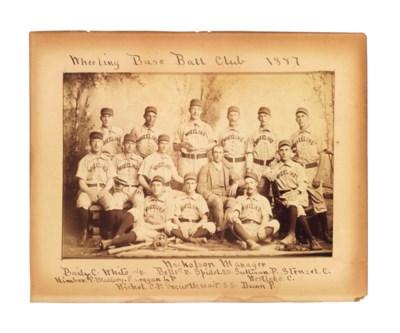 1887 WHEELING BASE BALL TEAM C
