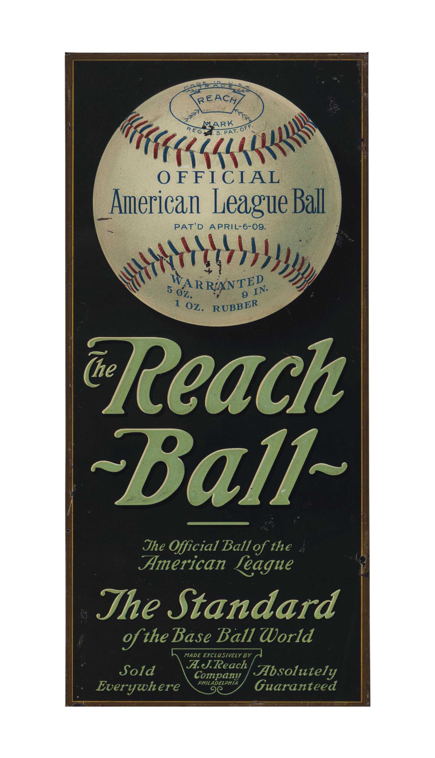 THE REACH BALL TIN LITHOGRAPHI