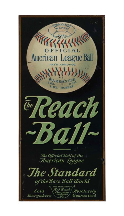 THE REACH BALL TIN LITHOGRAPHI