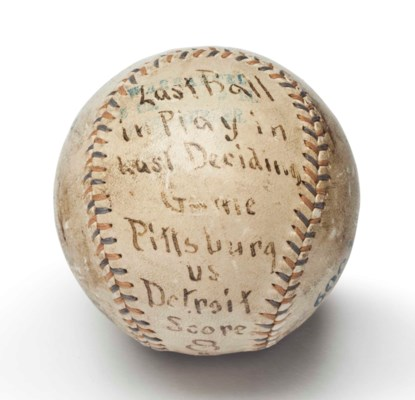 BASEBALL CAUGHT FOR THE FINAL