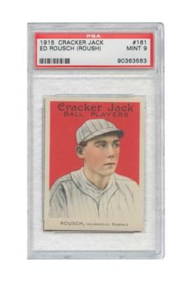 1915 CRACKER JACK #161 ED ROUS