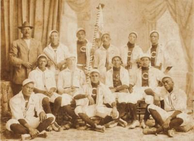 1912 CIENFUEGOS TEAM CABINET P