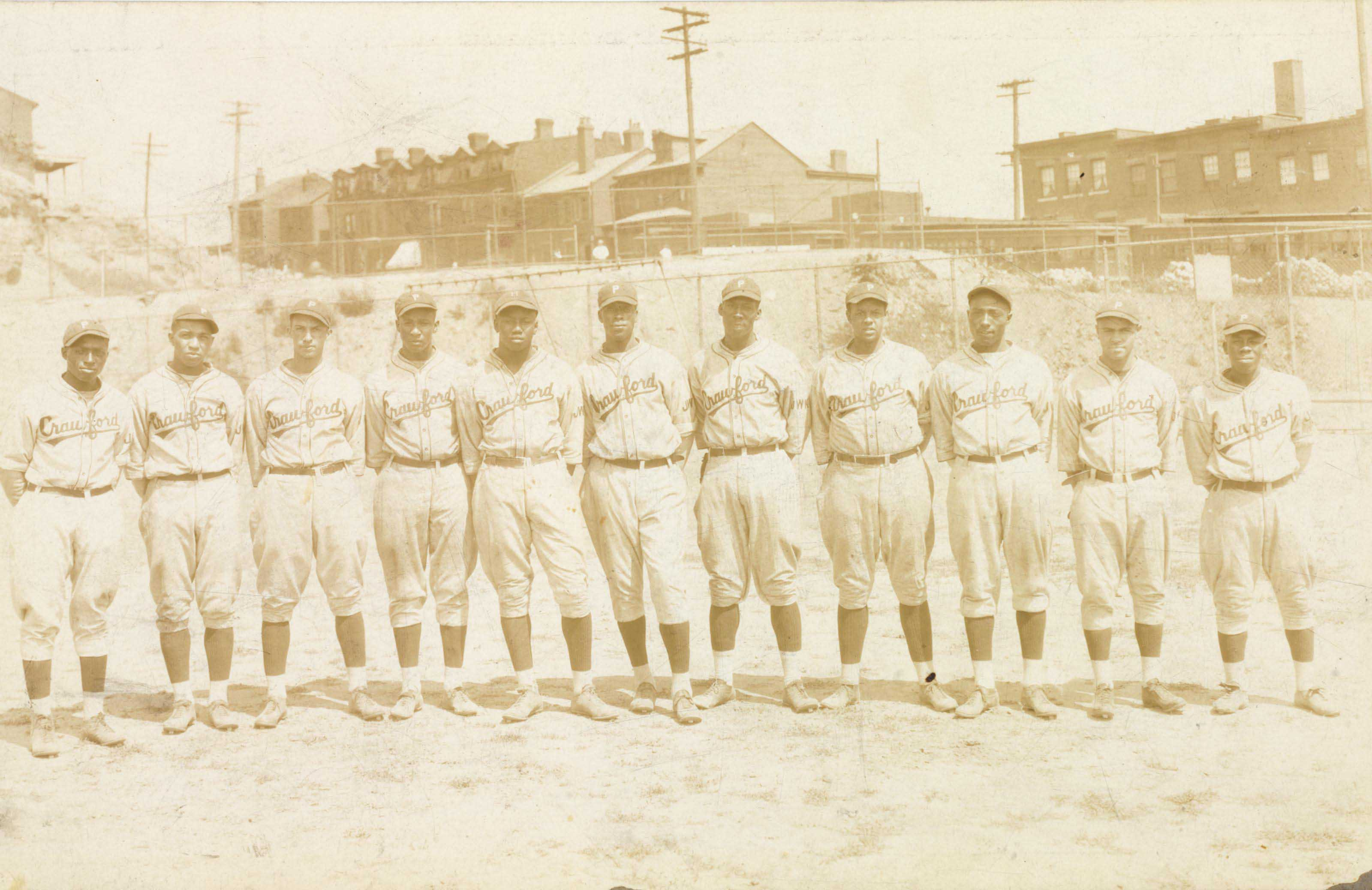 1928 PITTSBURGH CRAWFORDS TEAM