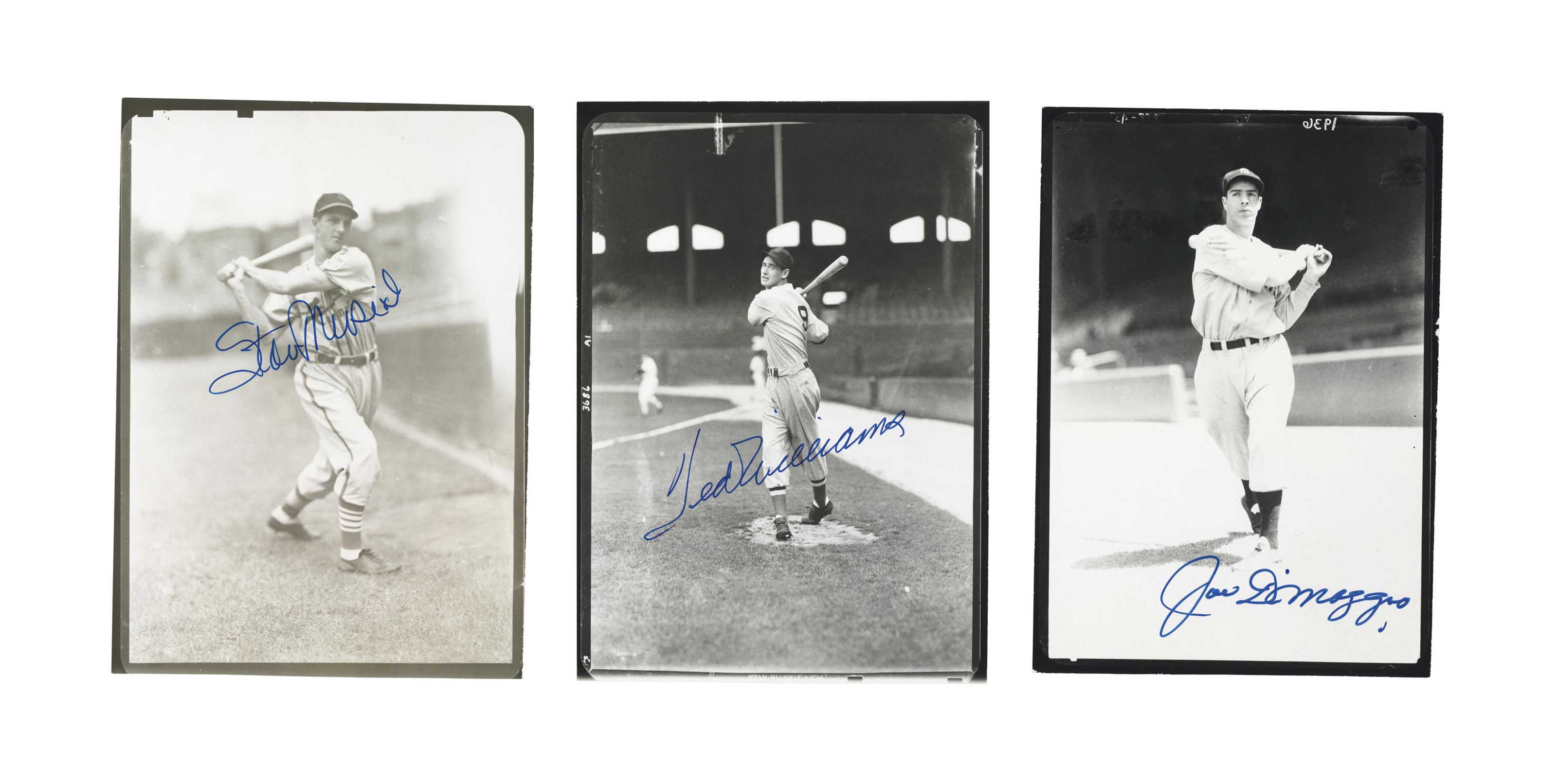 HALL OF FAME SIGNED PHOTO COLL