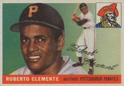 1955 TOPPS #164 ROBERTO CLEMEN