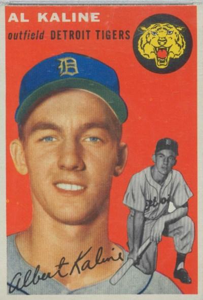 1954 TOPPS #201 AL KALINE