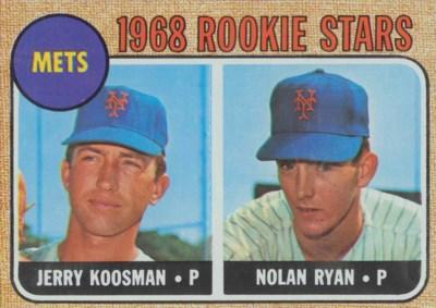 1968 TOPPS #177 ROOKIE STARS