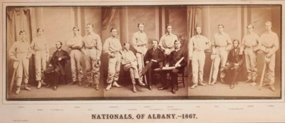 1867 ALBANY NATIONALS TRIPLE P