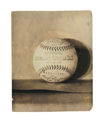 AMERICAN LEAGUE BASEBALL PHOTO