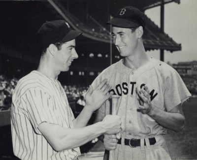 JOE DIMAGGIO & TED WILLIAMS PH