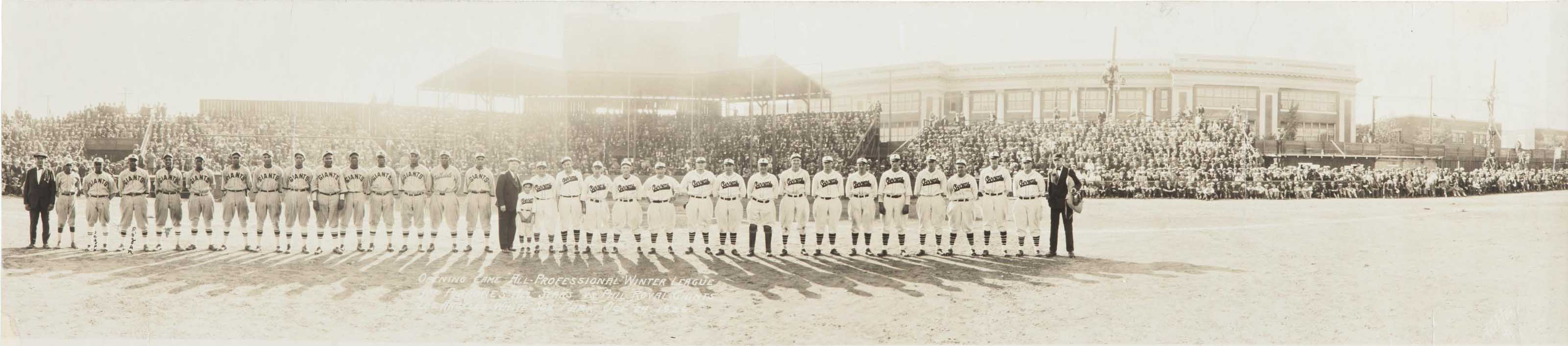 1926 PHILADELPHIA ROYAL GIANTS