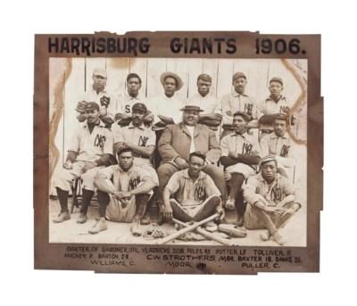 1906 HARRISBURG GIANTS OVERSIZ