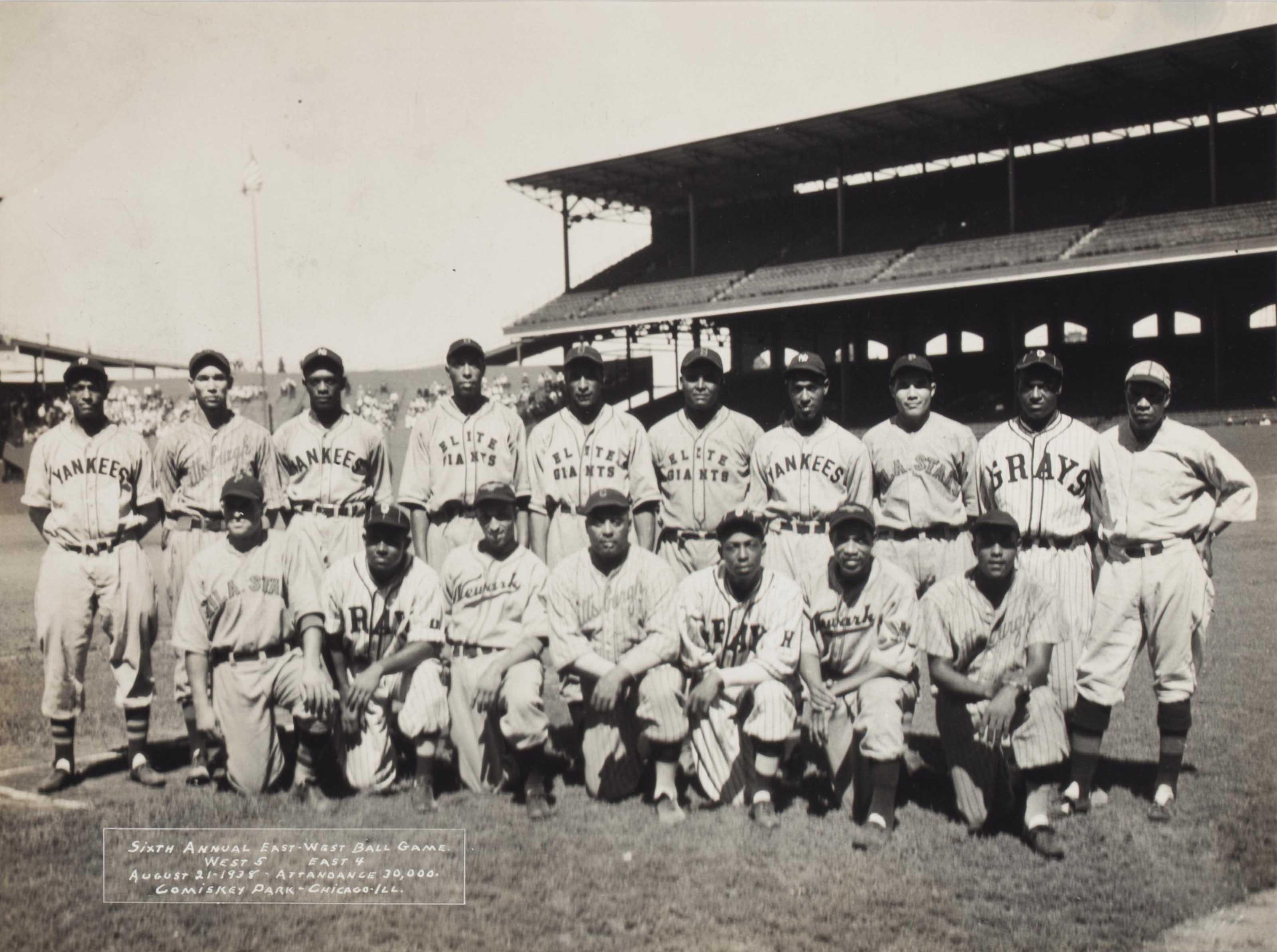 1938 EAST ALL STARS (NEGRO LEA