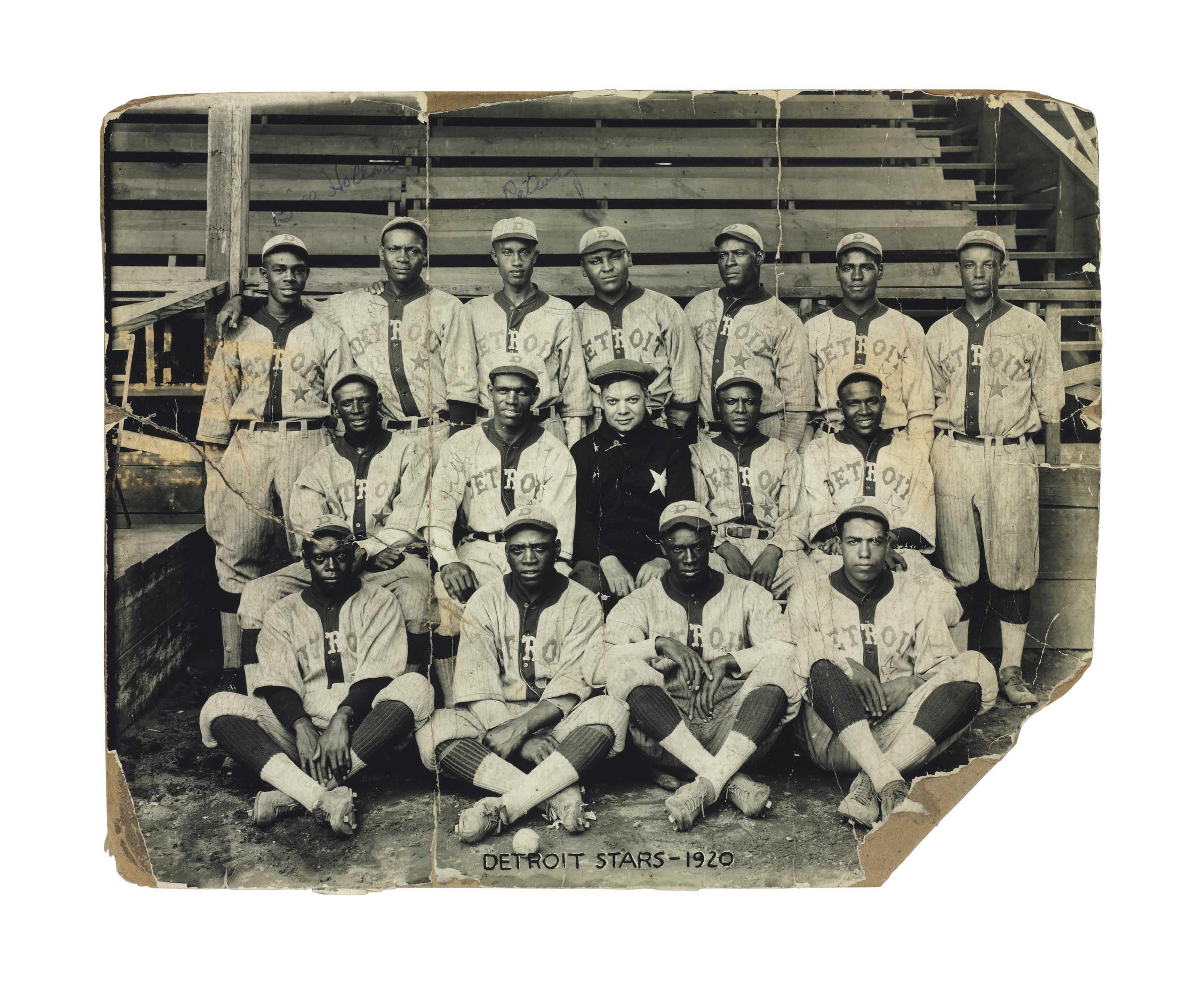 1920 DETROIT STARS TEAM PHOTOG
