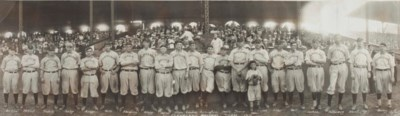 1911 CLEVELAND NAPS TEAM PANOR